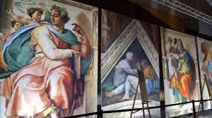 Michelangelo's Sistine Chapel: The Exhibition, America's Center, St Louis, MO, November 6, 2020 – January 17, 2021